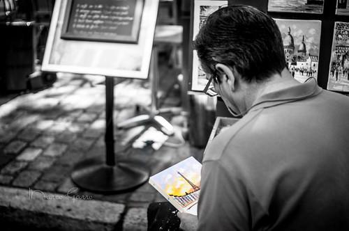 Artista di Strada a Montmartre