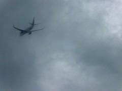 "Into the clouds 1 (benlarhome) Tags: sky canada calgary clouds plane airplane skies alberta ""flickrtravelaward"""