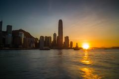 Wan Chai Sunset /  (kelvintkn) Tags: leica sunset colour digital hongkong asia rangefinder wanchai leicame leicaelmaritm28mmasph