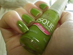 Menta - Risqué (marianamrr) Tags: verde unhas risque menta esmalte colorama baseprócrescimento nailpolishland tccolorama