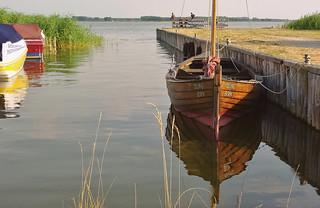 fishing village Born at Darß