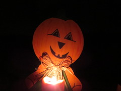 Halloween jack o'lantern pumpkin candle light at Smith Point Campground campsite on the FINS Fire Island National Seashore in New York, USA (RYANISLAND) Tags: ocean park county camping summer camp usa ny newyork beach sports nature sport america outdoors island us suffolk sand natural ns sandy parks longisland atlantic american beaches barrier summertime fi naturalbeauty campground atlanticocean fireisland fins campsite nationalseashore suffolkcounty beachsand fireislandnationalseashore barrierbeach barrierisland outerbeach campcamping