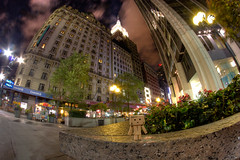 Alone in the city (hitesh_jasani) Tags: street nyc night toy canoneos20d danbo