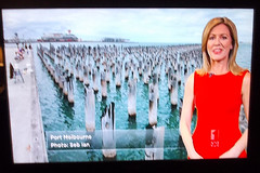 I was on TV! (Seb Ian) Tags: television tv abc abcweather