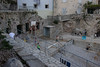 Dubrovnik Croatia-Life on a Beach (SLC_Dan) Tags: beach basketball hoop croatia speedo dubrovnik rockybeach