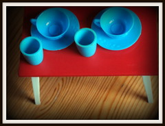 oversized (bechcomber) Tags: table furniture cups oversized 112 dollhouse modella