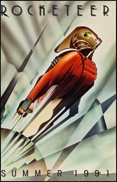 "The Rocketeer (Walt Disney Pictures, 1991). One Sheet (25.5"" X 40"")"