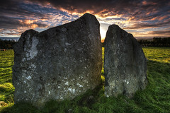 Pre-Technology Ages (Gareth Wray Photography -Thanks = 3 Million Hits) Tags: county blue ireland sunset red summer vacation sky irish sun holiday tourism monument field rock stone set standing circle lens landscape photography countryside site ancient nikon worship rocks europe day photographer angle dusk stones side famous horizon country wide scenic landmark visit tourist eire historic fox trust granite fields mystical hd druid colourful nikkor monuments gareth hdr donegal attraction pagan rituals druids mythical tyrone wray beltany raphoe strabane 1024mm d5200 bestcapturesaoi hdfox