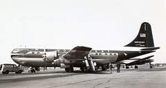 Boeing Model 377 Stratocruiser (San Diego Air & Space Museum Archives) Tags: airplane model northwest aircraft aviation boeing airlines nwa airliners northwestairlines 377 stratocruiser b377 boeingstratocruiser boeing377 boeing377stratocruiser boeingmodel377stratocruiser boeingmodel377 n74606 cn15952 stratocruiserwashington
