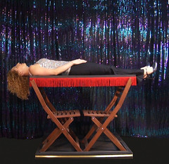 Magical Levitation! (Dayle Krall:Most Accomplished Female Escape Artist) Tags: magic floating levitation richardsherry daylekrall sherryandkrallmagic calgarymagicians