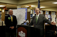 10-01-13 Governor Bentley Announces Fist Phase of Northern Beltline Can Begin