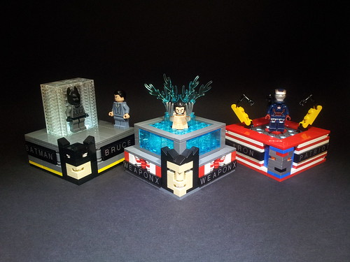 Superhero display stands