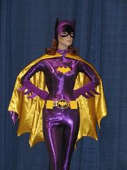 Batgirl mannequin at Rhode Island Comic Con (FranMoff) Tags: mannequin costume cosplay batgirl costumer yvonnecraig rhodeislandcomiccon ricomiccon