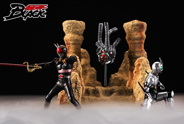 HG Series 假面騎士 BLACK & 假面騎士 RX 最終決戰套裝