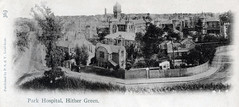 Hither Green, Park Hospital, London (robmcrorie) Tags: park england green london history vintage hospital britain postcard patient medical health national doctor nhs service british isolation nurse clinic healthcare development fever hither