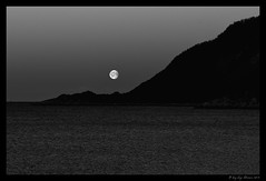 the whole of the moon (Stenersenfoto) Tags: winter light blackandwhite bw mountain building berg norway aperture nikon niksoftware nikond300 bergsfjorden