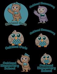 Owl Logo with Text (TeaTeasTreats) Tags: cute illustration photoshop children logo fun design graphicdesign mascot adobe concept adobeillustrator teateastreats teataylorinspired elementaryschoollogo