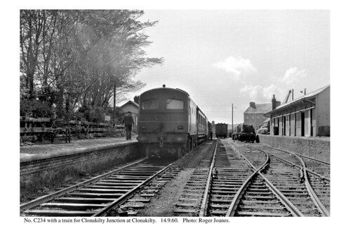 Clonakilty. C234 & train. 14.9.60