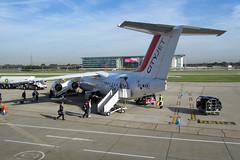 CityJet Avro RJ-85A London City (Chris Goodwin - AirTeamImages) Tags: city london amsterdam airport flight jet bae schiphol ams boarding avro 146 eham rj85 lcy cityjet rj85a eiwxa