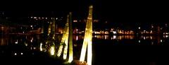 Coimbra (mgkm photography) Tags: nightphotography travel light shadow tourism portugal night landscape photography photo europa europe tour gimp highlights led turismo reflexos coimbra iluminação htc fotografianocturna ilustrarportugal flickrtravelaward