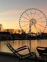 Paris by Muriel FRANCIUS - December 2013 (Muriel FRANCIUS) Tags: paris tower wheel statue place eiffel seats concorde lack roue