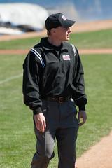 Umpire Rob Hansen (mark6mauno) Tags: west coast nikon baseball stadium wcc rob page conference nikkor hansen d3 umpire tc14eii 70200mmf28gvr 2011 westcoastconference nikond3 pagestadium robhansen