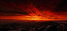 The Dark Lands (Andrew Louie Photography) Tags: life camera sun colors sunrise canon dark fire photography interesting san francisco mood shadows darkness expression rich burn lands fiery coffeeandjazz