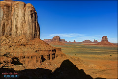 monument valley, navajo nation, az (hakoar) Tags: life blue winter red arizona portrait sky mountain nature rock stone landscape us rocks colorful butte pattern view desert wildlife unitedstatesofamerica rocky dry boulder formation vista wilderness monumentvalley barren gravel navajonation