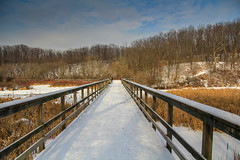Cherry Hill Gate Bridge (hey its k) Tags: bridge winter snow img1858 cherryhillrbg