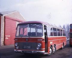 ANN700B (21c101) Tags: nottingham 1969 bedford barton 1000 1964 chilwell duple bartontransport val14 duplevegamajor ann700b