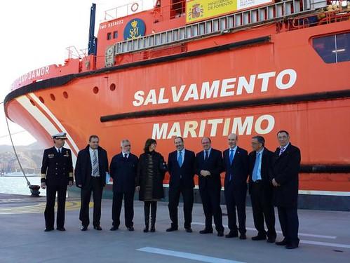 Salvamento Marítimo firma convenios con la CARM y la UPCT