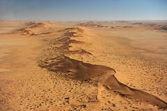 Namibwüste aus der Luft V