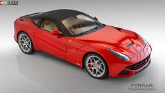 Ferrari F12berlinetta Custom (Gaurav's Domain) Tags: red italy scale car studio italian super ferrari hyper custom hdr 118 scalemodel f12 berlinetta ferrarired f12berlinetta