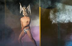 Chen Wei-an (The God of the Clouds) (DanceTabs) Tags: uk london dance chinese performance arts entertainment dancings contemporarydance maledancer dancetheatre cloudgatedancetheatreoftaiwan ninesongs sadlerswellstheatre femaledancer dancetabs chenweian huangmeian linhwaiminchoreographer