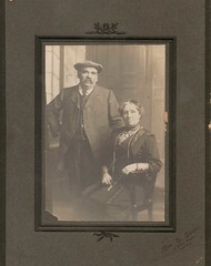 Portrait of a Couple by Mrs G Swain St Giles Studio Norwich (Bury Gardener) Tags: uk portrait england english vintage norfolk norwich oldies eastanglia