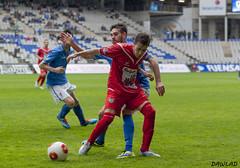 Sergio Diaz presionando a Ruben (Dawlad Ast) Tags: b españa sergio real 1 ruben asturias carlos estadio grupo oviedo futbol nuevo segunda diaz guijuelo tartiere
