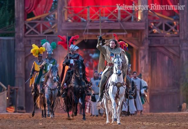 カルテンベルク(ドイツ)のお祭り:中世騎士祭り