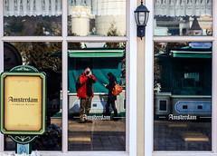 Amsterdam Omelette Rice (TigerPal) Tags: park reflection window amsterdam amusement nikon ride korea amusementpark yongin everland hyeyoung d700