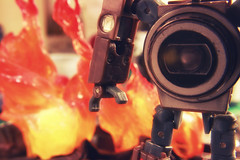 Technical Difficulties (ElDave) Tags: macro toy toys actionfigure transformers autobot reflector hasbro spyshot6
