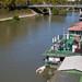 Houseboats on the Tiber