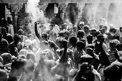 Holi mood @ Nandgaon,Mathura. (vjisin) Tags: holi colours springfestival india incredibleindia indianheritage asia nikond3200 nikon indianboy action nandgaon mathura uttarpradesh brajholi joy temple red surreal people happiness cwc497 chennaiweekendclickers