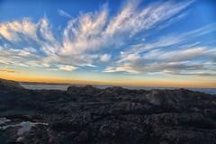 Beautiful Clouds and light at Kiama (Masoodz) Tags: clouds blue sky colorfulsky kiama nsw australia ocean evening canon 650d efs1018mm famalin dpp4 googlenik efex pro yellow rocks nature landscape