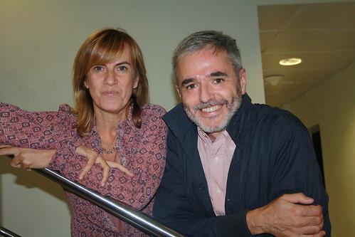 Gemma Nierga i Mikel López Iturriaga