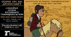 The Hobbit: A Pony (OregonDOT) Tags: tolkienreadingday tolkien socialmedia alternatetransportation modes oregondot oregon
