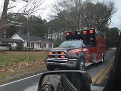 Gwinnett County Medic 22 (Avery Guthrie) Tags: gwinnett county fire services medic 22 rambulance ambulance ram dodge