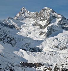 Early winter (Alpine Light & Structure) Tags: switzerland schweiz suisse alps alpen alpes winter zermatt obergabelhorn