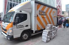evening standard (philip robins) Tags: eveningstandard van delivery media paperworlds