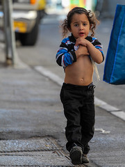 I Will Keep All My Treasures and Secrets as Close To My Heart as Possible! (ybiberman) Tags: israel jerusalem meahshearim young boy portrait candid navel belly bellybutton payot kippah streetphotography puzzled ultraorthodox jew