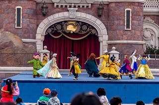 Golden Fairytale Fanfare, Enchanted Storybook Castle