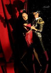 Passionate tango (saratiz) Tags: barbiepoplife barbiemistycopeland reddress torero shadows